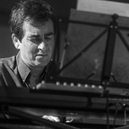 Les Barons à Jazzup : Fred d'Oelsnitz (piano)