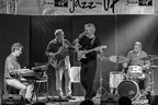 Les Barons à Jazzup : Alain Asplanato (batterie) ; Fred d'Oelsnitz (piano) ; Amaury Filliard (guitare) ; Christian Pachiaudi (basse)